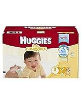 Huggies Little Snugglers Diapers Disney Design Size 2 - 72 CT