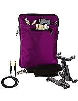 Vg Inc Laptop Messenger Bag (Purple)