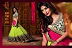 Nairiti Fashions Bollywood Replica Chitrangada White Color Silky Net Fabric Party Wedding Wear Designer Lehenga Choli