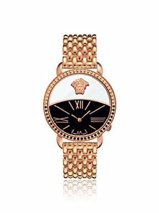 Versace Women's 93Q86D08C S080 Krios Gold/Black Stainless Steel Watch