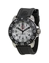 Luminox Open Box - Navy Seal Colormark White Dial Black Rubber Strap Men's Watch -OB-LM3157