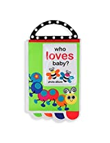Sassy Who Loves Baby? Photo Album Book With Teether Handle By Sassy