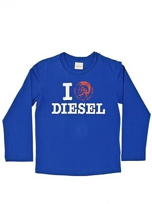 Diesel Kid Longsleeve Taylyk (Blau)
