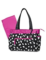 Gerber Diaper Tote Bag, Spotty Print