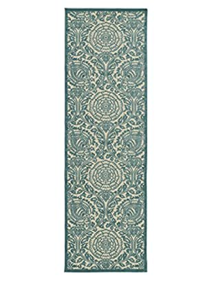 Kaleen Five Seasons Indoor/Outdoor Rug, Blue, 2' 6