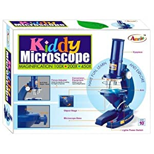 Annie Kiddy Microscope Set Educational Toy For Kids