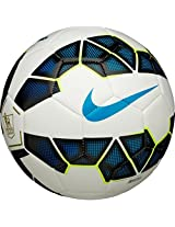 Nike Strike PL Football, Men's Size 5 (White/ Black/ Proc Bl)