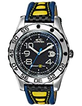 Chronotech Analog Black Dial Men's Watch - CT7893M04