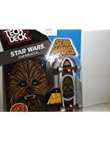 2014 Santa Cruz Tech Deck Star Wars Chewbacca Mini Finger Skateboard #5/7 with Display Stand