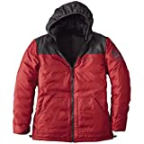 Reversible Down Jacket 678995: Black / Crimson