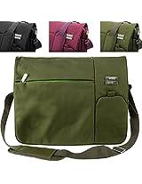 My Vangoddy Laptop Messenger Bag - Green