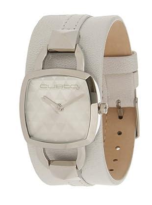 Custo Watches CU017601 - Reloj de Señora cuarzo piel Blanco