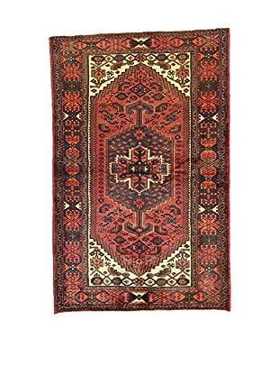 L'Eden del Tappeto Teppich Hamadan rot/mehrfarbig 203t x t129 cm