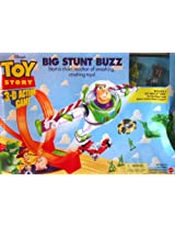 "Disney Toy Story ""Big Stunt Buzz"" 3-D Action Game by Mattel. Includes 2 Hot Wheels Cars: The Red Baron and Special Edition Shock Factor."