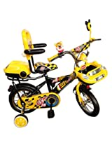 HLX-NMC KIDS BICYCLE 12 CAR-X YELLOW/BLACK