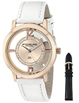 Stuhrling Original Classic Analog Pink Dial Women's Watch - 388L2.SET.03
