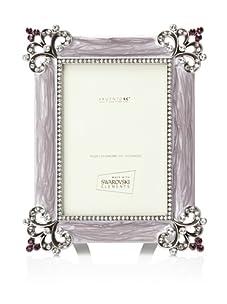 "Swarovski Frames 3"" x 5"" Baroque Picture Frame (Purple)"