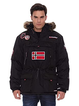 Geographical Norway Abrigo Corto Austral (Negro)