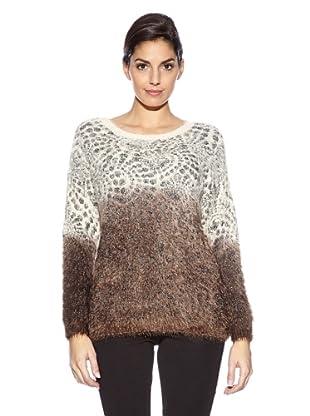 Love U Pullover Doris (Ecru/Taupe)