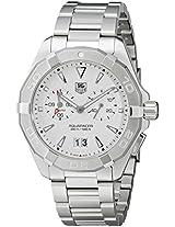 TAG Heuer Men's WAY111Y.BA0910 Analog Display Quartz Silver Watch