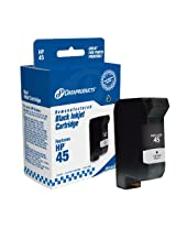Dataproducts DPC45A Remanufactured Ink Cartridge Replacement for HP #45 (51645A) (Black)