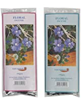 Auroshikha Floral Incense Sticks (400 gm, Brown, Pack of 2)