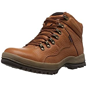 Redchief Men's Elephant Tan Leather Trekking and Hiking Footwear Boots - 7 UK  (RC2506 107)