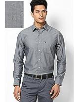Black Full Sleeves Casual Shirts