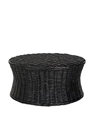 Safavieh Ruxton Cocktail Ottoman, Black