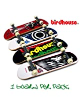 Tech Deck 96mm Bonus Pack 4 Pcs. Set Lot / Includes 4 Randome Single Fingboard Skateboards