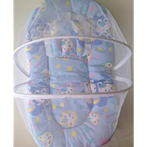 Mosquito Protection Baby Bed with pillow