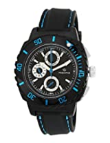 Maxima Hybrid Collection Analog Black Dial Men's Watch - 30771PPGN