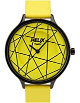 Helix Constellation Analog Yellow Dial Women's Watch - 08HL02