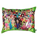 The Elephant Company Rectangle Cushion Cover Indian Family