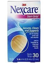 Nexcare Steri-Strip Skin Closure 1/4 X 4 Inches, 30 Count