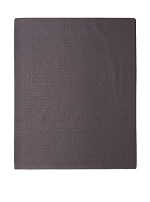 Coyuchi Pointille Flat Sheet (Deep Charcoal)