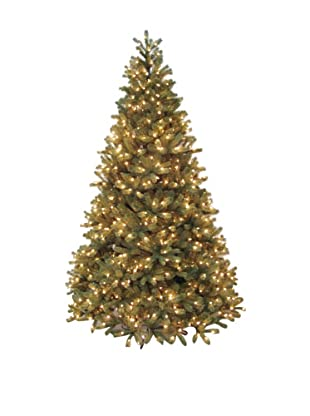 Santa's Own 9' Bridgeport Douglas Pre-Lit Multi Light Tree
