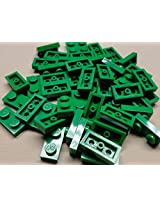 DEAL OF THE DAY!!! DO NOT MISS OUT!x50-NEW-Lego-Green-Baseplates-1x2-Brick-Building-Plates
