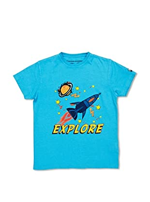 National Geographic T-Shirt Explore (Azzurro)