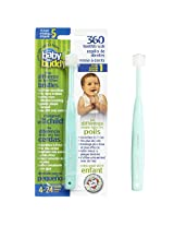 Baby Buddy 360 Toothbrush, Green (Pack of 3)