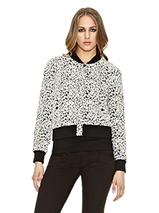Pepe Jeans London Cazadora Connie (Negro / Blanco)