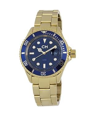 Carlo Monti Herren Armbanduhr XL Varese Analog Edelstahl beschichtet CM507 239