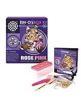 Ein Os Rose Pink Crystal Growing Box Kit By Tedco