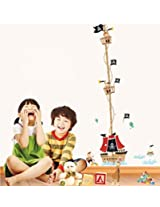 UberLyfe Pirate Ship Wall Sticker for Kid's Room