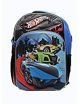 Mattel HOT Wheels 15.5 Inch Molded 3D Pop-up Large Size Backpack for Kids