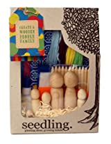Seedling Create A Wooden People Family Kit