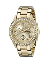 Fossil End-of-season Chronograph Champagne Dial Women's Watch - ES2683