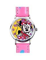 Minnie Kids Analog Watch - Pink