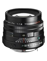 Pentax K-Mount SMC FA 77mm F/1.8 Prime Lens for Pentax DSLR Camera (Silver)