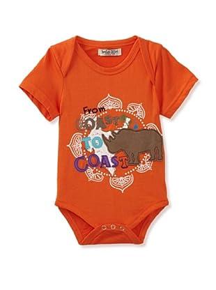 Da Lil Guys Baby Short Sleeve Bodysuit (Cost To Coast)